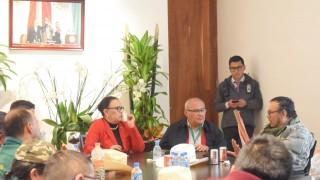 Recibe Gobierno de la CDMX a comisión de campesinos